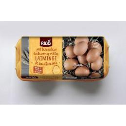 Kiaušiniai  RIDO  530g 10vnt
