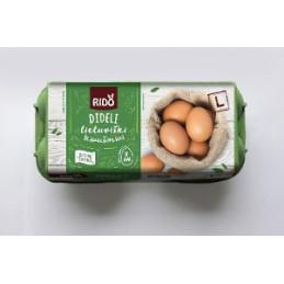 Kiaušiniai RIDO ne mažiau...
