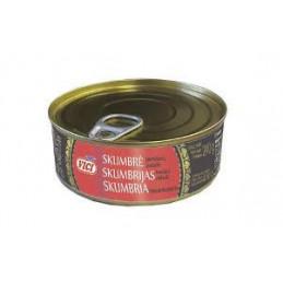 Skumbrės  pomidorų padaže 240g