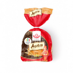 AGOTOS juoda duona, 375g