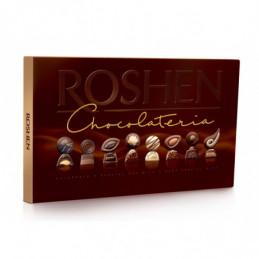 Šokoladinių saldainių...