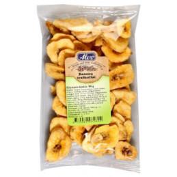 Bananų traškučiai  Alvo  80g