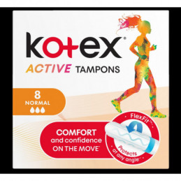 Tamponai KOTEX Active...