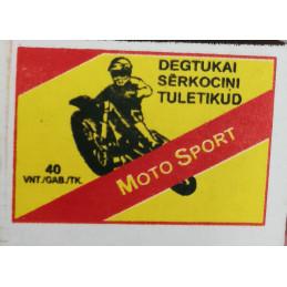 Degtukai  BY  Moto Sport 1vnt.