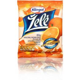 Želė apelsinų skonio 80g...