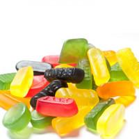 Dražė, guminukai, pastilės, kramtomoji guma