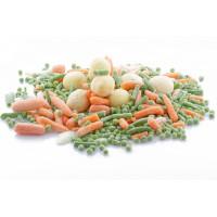 Šaldytos daržovės, uogos